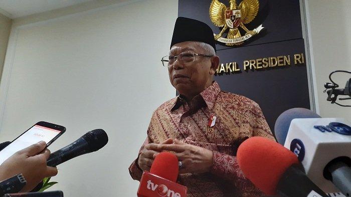 Dianggap Kurang 'Tampil', Maruf Amin: Kalau Wakil Presiden Menonjol Nanti Ada Matahari Kembar