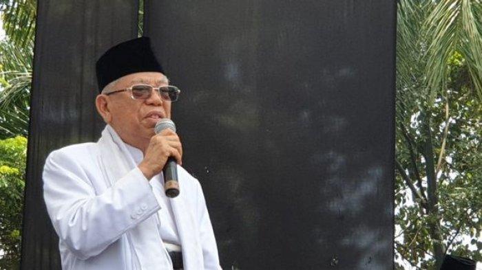 Maruf Amin: Orang yang Membuat Hoaks Calon Ahli Neraka