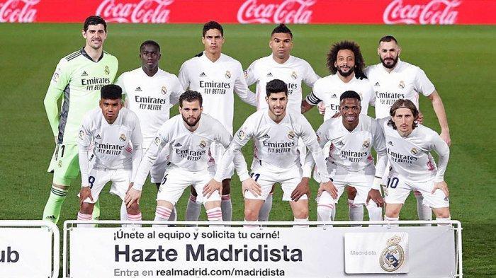 Debut Marvin Park (depan kiri) bersama Real Madrid di pertandingan melawan Real Sociedad