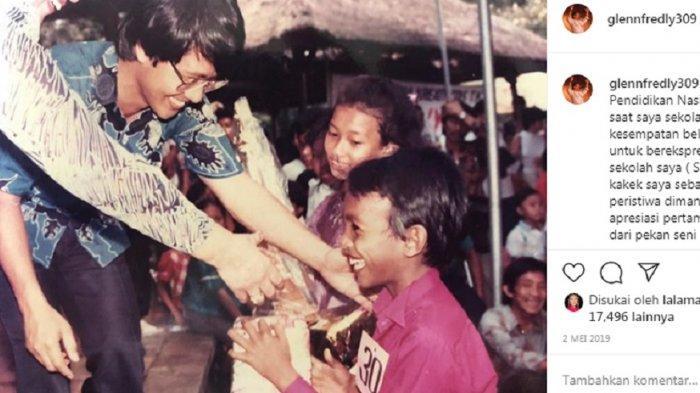 Dimentori Sang Kakek, Sejak SD Glenn Fredly Sudah Lihai Bernyanyi, Juarai Lomba Tingkat DKI Jakarta