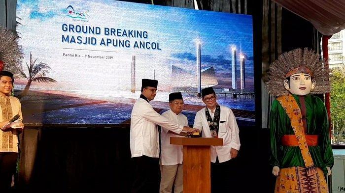 53 Tahun Ancol Taman Impian, Anies Bersyukur Bakal Ada Masjid Besar
