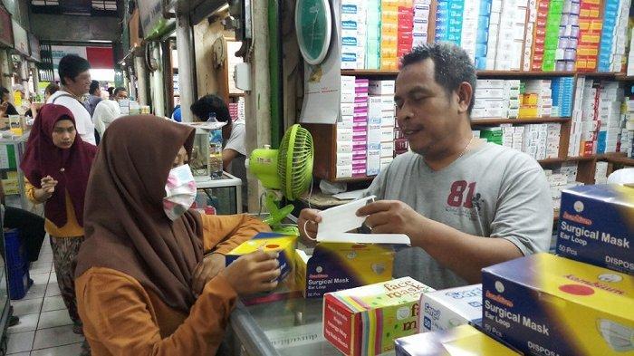 Masker N95 Penangkal Virus Corona Langka di Pasar Pramuka dan Apotek, Harga Tembus Rp 1,4 Juta/pak