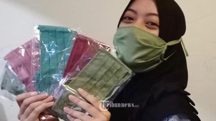 Dinkes Kota Depok Imbau Warga Gunakan Masker Kain untuk Cegah Penularan Covid-19 Melalui Air Liur
