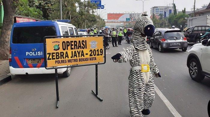 Catat! Mulai Besok Senin, Ditlantas Polda Metro Jaya Gelar Operasi Zebra 2020, Target Knalpot Racing