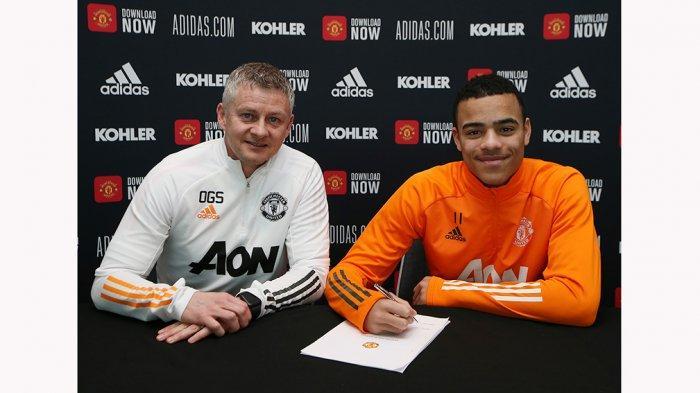 Mason Greenwood Penyerang Muda Manchester United Diperpanjang Kontraknya Hingga 2025 Di Old Trafford