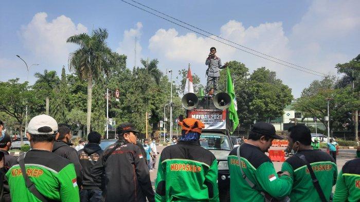 Sejak Februari Cuma Janji Massa Buruh Kabupaten Bogor Tuntut Upah Minimum Sektoral Segera Ditetapkan