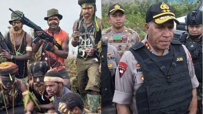 Akhirnya Terungkap Dalang di Balik Penyerangan KKB Papua di Pos Polisi Paniai, Ini Latar Belakangnya
