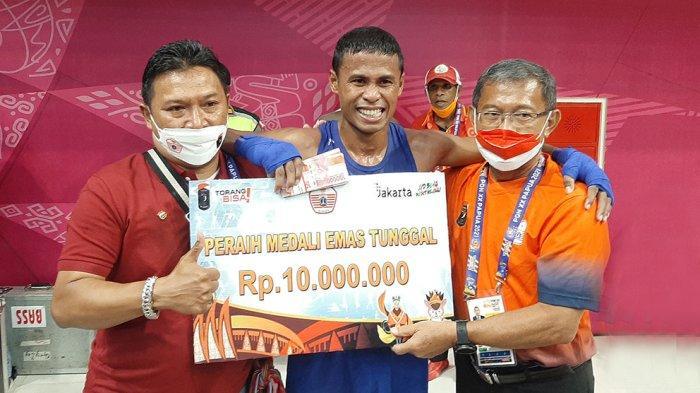 Raih Medali Emas, Petinju Matius Mandiangan Jadi Penentu Terpenuhinya Target Tim Tinju DKI Jakarta