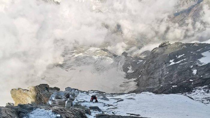 Begini Curamnya Lereng Gunung Matterhorn, Pendakian Spiritual Sofyan Untuk Mendiang Sahabat