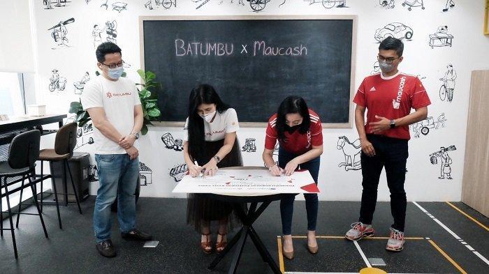 Maucash Gandeng Batumbu Bidik Target Rp 100 Miliar Untuk Penyaluran Dana UMKM