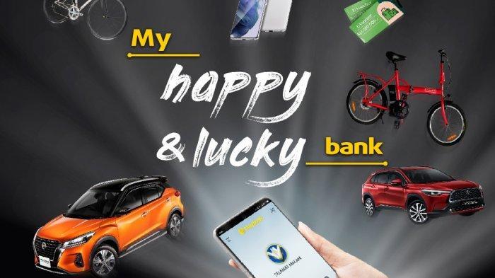 Maybank Indonesia Bikin Gebrakan Lewat ProgramMy Happy & Lucky Bank