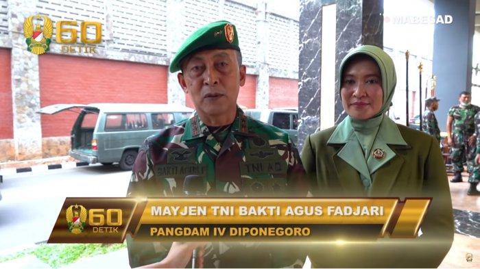 Daftar Lengkap Mutasi 114 Pati TNI, Mayjen TNI Bakti Agus Fadjari Promosi dari Pangdam Jadi Wakasad