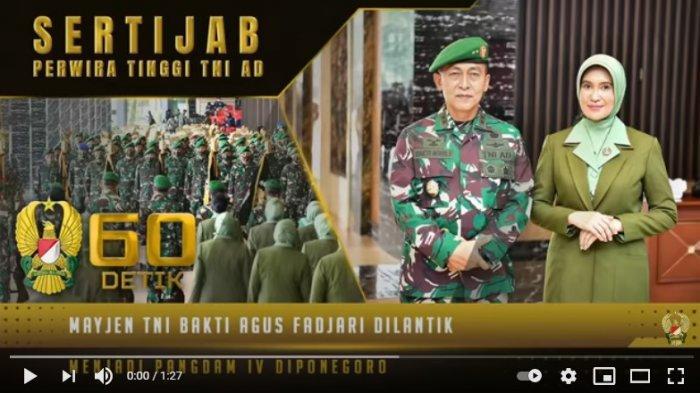 Profil Wakasad Baru Mayjen TNI Agus Fadjari, Pernah Danrem Solo, Seangkatan dengan Jendral Andika