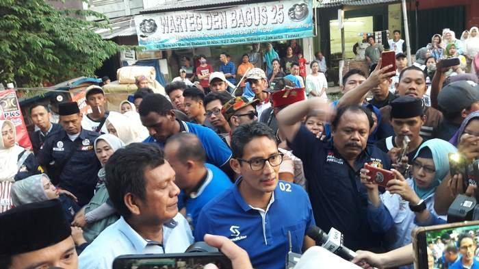 Mayoritas Lokasi Rapat Umum Prabowo-Sandiaga Belum Kantungi Izin