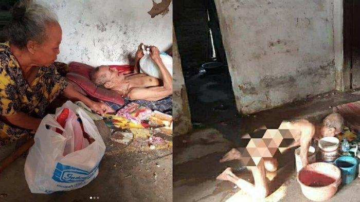 Mbah Sarani Hidup Sebatang Kara di Kampung Priuk, Saat Kelaparan Sampai Makan Kapuk Kasur