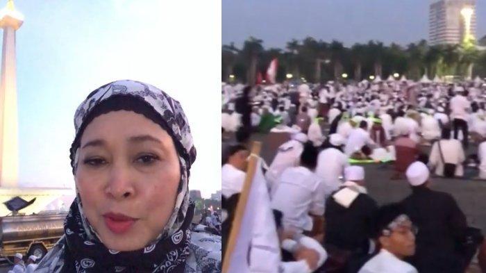 Senasib Dengan Nur Asia, Titiek Soeharto Hadiri Reuni Akbar PA 212 Tanpa Ditemani Prabowo