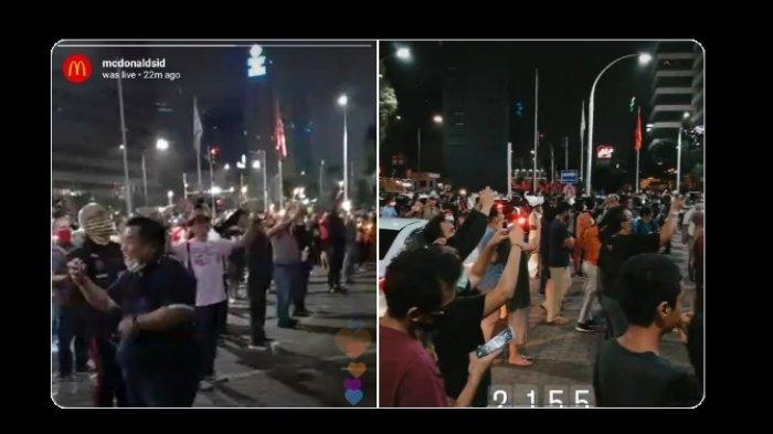 Ironi PSBB Jakarta, Kerumunan Orang Saat McDonald's Sarinah Resmi Ditutup Mengapa Tak Dibubarkan?