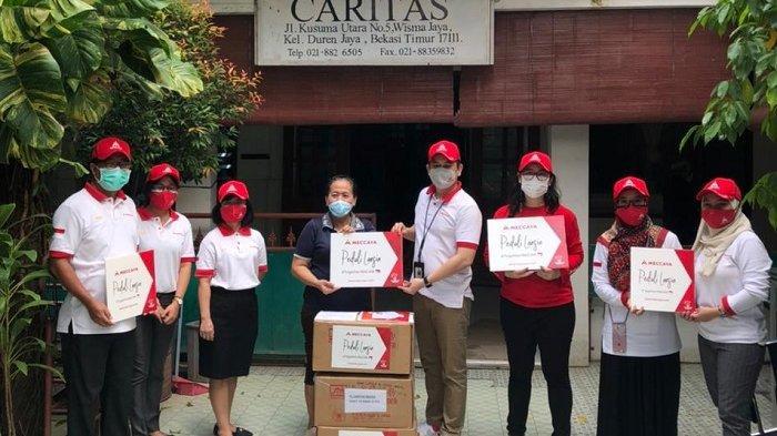 Meccaya Sumbangkan 1000 Paket Donasi ke Panti Wreda dan Puskesmas
