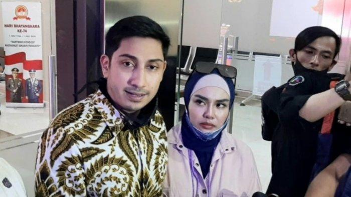 Gelar Perkara Kasus Dugaan Penggelapan Uang yang Dilakukan Irwansyah, Medina Zein Bawa Bukti Baru