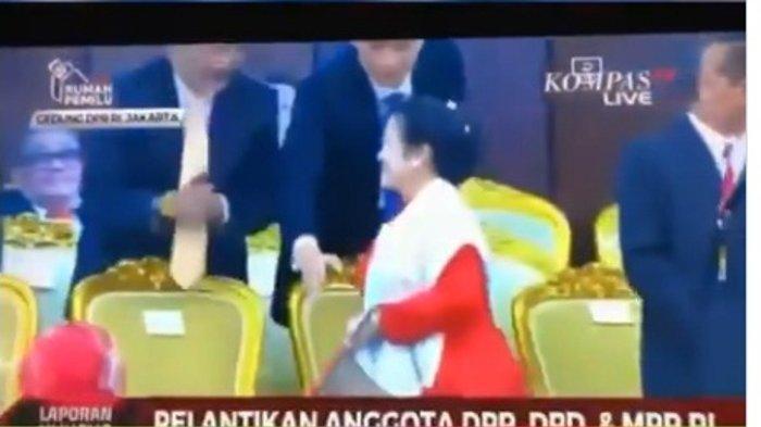 Megawati Soekarnoputri Buang Muka dan Menolak Bersalaman dengan Surya Paloh dan AHY Diduga Disengaja