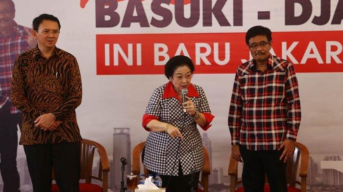 Megawati Serukan Pendukung Ahok untuk Datang Lebih Awal di Saat Pencoblosan