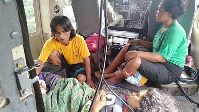 Naik Helikopter TNI AD Saat Hendak Dilahirkan, Bayi Ini Diberi Nama Muhammad Satria Helly Perkasa