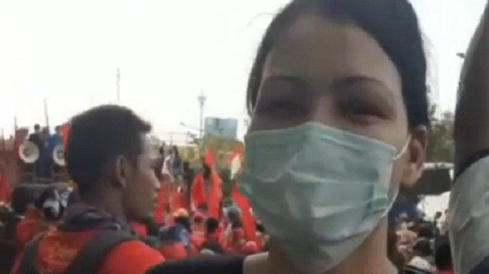 Melanie Subono Doakan Wiranto Cepat Sembuh Bandingkan Pelaku Salim Kancil atau Munir Tidak Ditemukan