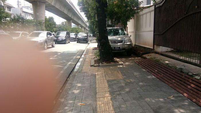 Trotoar di Jalan Satrio dan Jalan Casablanca Akan Ditata, Usung Konsep Complete Streets