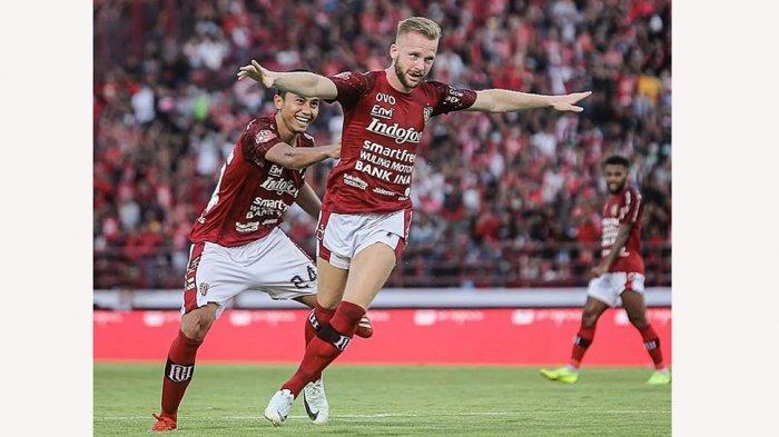 Manajemen Bali United Pinjamkan Melvin Platje Ke Klub De Graafschap Liga 2 Belanda hingga Juni 2021