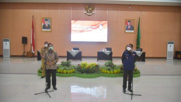 Kunjungi Kabupaten Bekasi, Mendagri Minta Pemda Berinovasi Dalam Penanganan Covid-19