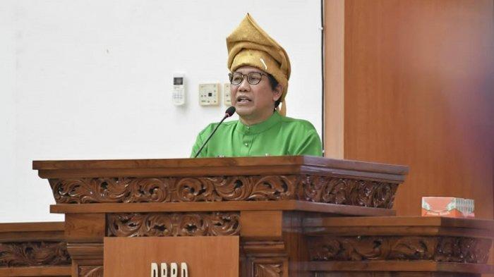 Pidato Hari Jadi Babel, Abdul Halim Iskandar Tegaskan Desa Harus Jadi Pusat Pembangunan