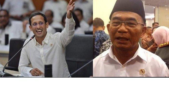 Hari Guru, Viral Pidato Mendikbud Nadiem Makarim Bandingkan dengan Muhadjir Effendy