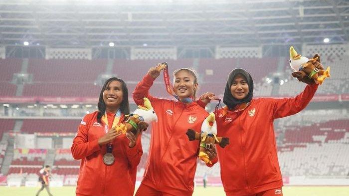 Asian Para Games, Tiga Pelari Putri Indonesia Satu Podium Nomor 100 Meter