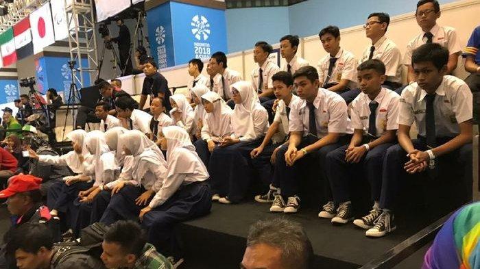 Menyaksikan Atlet Asian Para Games 2018, Siswa Siswi SMPN 141 Jakarta Belajar Lebih Bersyukur