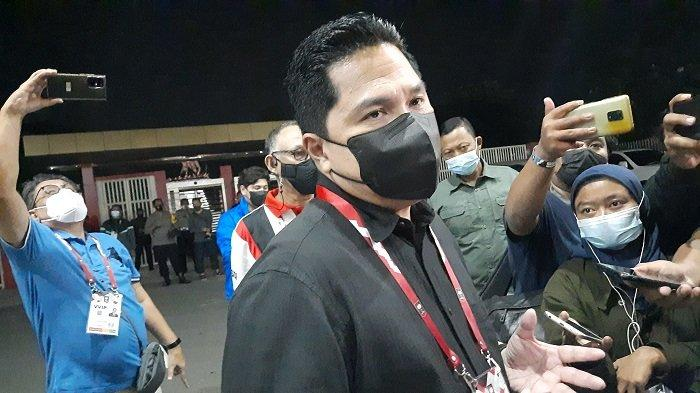 Meneteri BUMN Erick Thohir gemes dengan terbongkarnya kasus penggunaan alat rapid tes antigen bekas di Bandara Kualanamu, Medan.