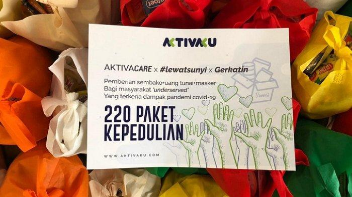 Aktivaku dan Sunyi House of Coffee and Hope Salurkan Paket Bantuan untuk Masyarakat Tunarungu