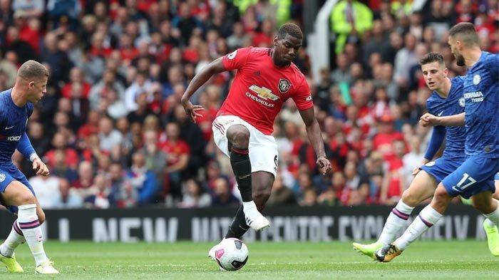SEDANG BERLANGSUNG Via Live Streaming, Manchester United vs Newcastle, Starting XI MU Simpan Pogba
