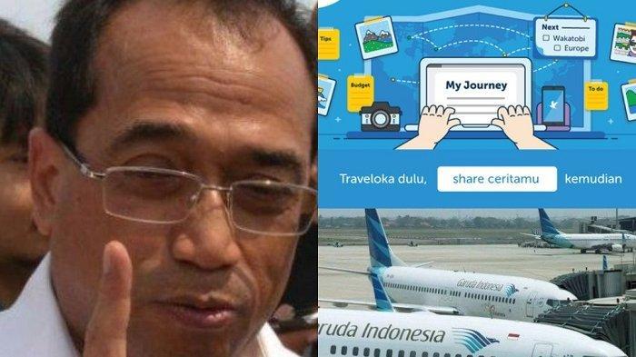 Tiket Garuda Bandung Medan Rp 21 9jt Menhub Marah Tegur Traveloka Ini Alasan Garuda Jual Tiket Mahal Warta Kota