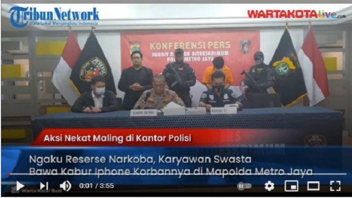 Ajak Transaksi di Mapolda Metro Jaya, Pria Ngaku Reserse Narkoba Tipu Pedagang Handphone