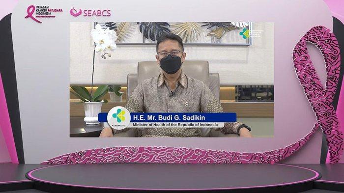 Menkes Budi Sadikin Percaya Kerjasama Semua Pihak Terkait Bisa Kendalikan Penyakit Kanker Payudara