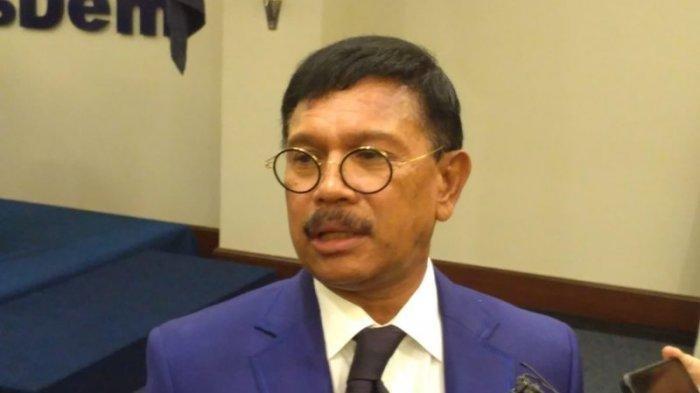 Menteri Komunikasi dan Informatika Johnny G Plate