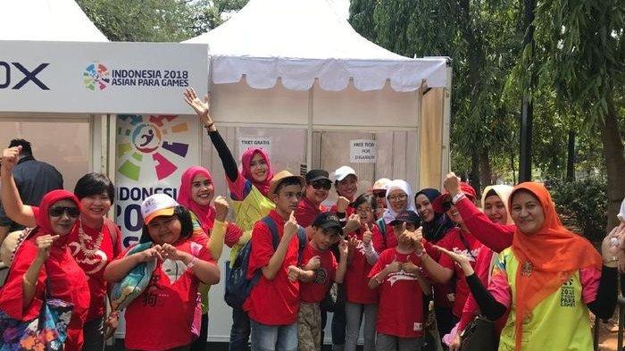 Perjuangan Atlet Disabilitas di Asian Para Games 2018 Jadi Inspirasi Siswa Sekolah Spectrum