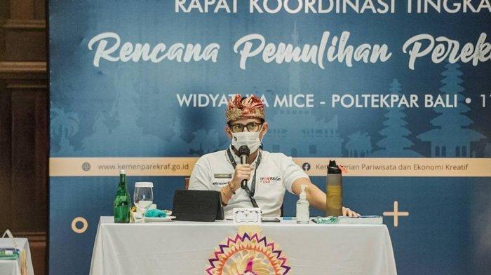 Realisasi Harapan Jokowi Bangkitkan Parekraf Bali, Sandiaga Uno Finalisasi Kebijakan Travel Corridor