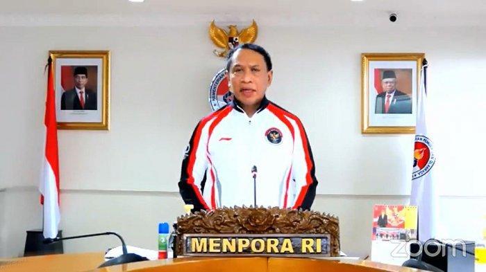 Menpora Zainudin Amali mengatakan Menkominfo Johnny G Plate akan memberikan bonus kepada atlet Indonesia peraih medali di Olimpiade Tokyo