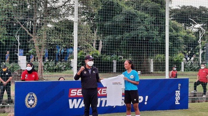 Menpora Zainudin Amali Apresiasi Pengenalan Timnas Wanita Jelang Hadapi SEA Games 2021 di Vietnam