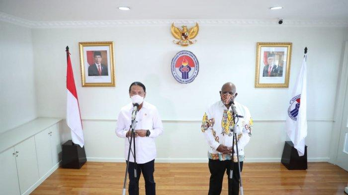 Siap Gelar PON Papua 2021, Wagub Papua Klemen Tinal Minta Kemenkes Segera Datangkan Vaksin ke Papua