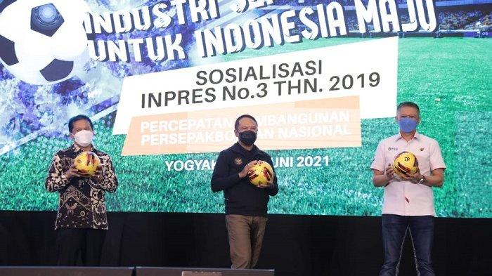 Menpora Zainudin Amali Ingin Inpres No 3 Tahun 2019 Menjadi Tulang Punggung pada Pembinaan Usia Dini