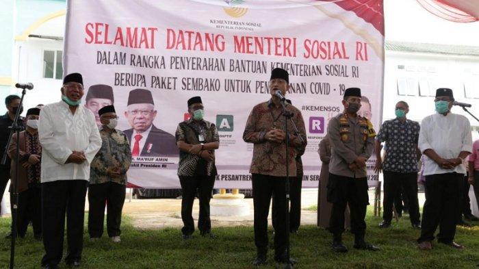 Lewat Bansos Mensos Menyapa 51 Pondok Pesantren se-Provinsi Banten