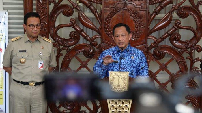 Mendagri Tito Karnavian Ingatkan Anies Baswedan, Lockdown Kewenangan Pemerintah Pusat