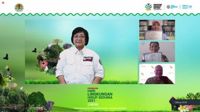 Ada 2 Pemenang Climate Adaptation Challenge 2021 Dapat Rp 86,6 Juta, Ini Kata Menteri Siti Nurbaya